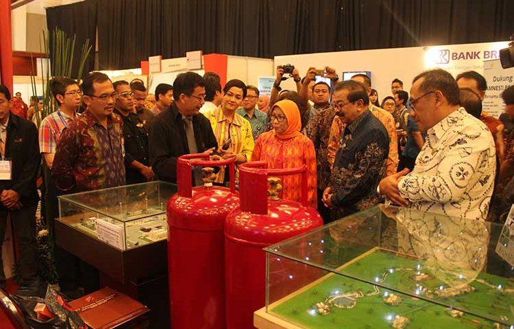 Stand PT Petrogas Jatim Utama di Jatim Fair 2016