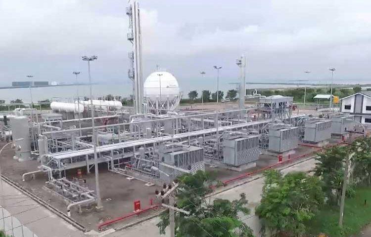 Pembangunan LPG Plant di Gresik