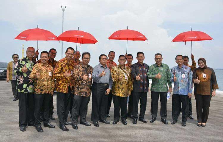 Field Visit Bank Jatim dan PT SMI ke Pelabuhan Probolinggo