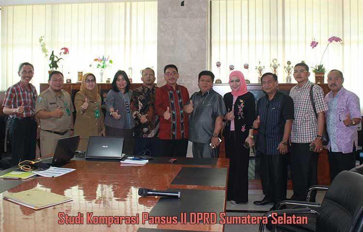Studi Komparasi Pansus II DPRD Sumatera Selatan