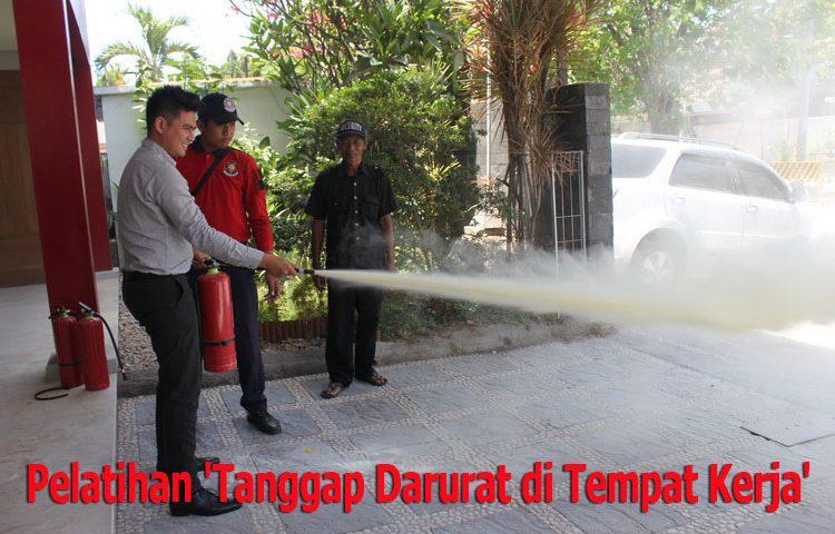 Pelatihan 'Tanggap Darurat di Tempat Kerja'