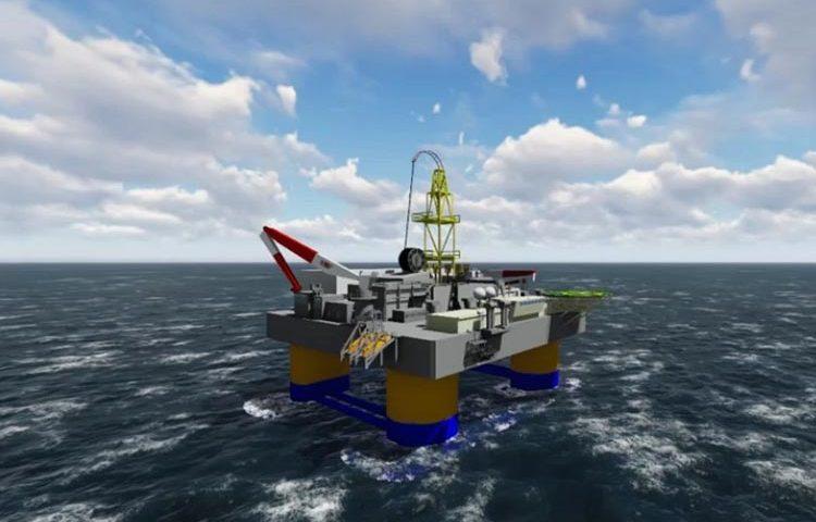 Rancangan Offshore Oil Rig Ramah Lingkungan