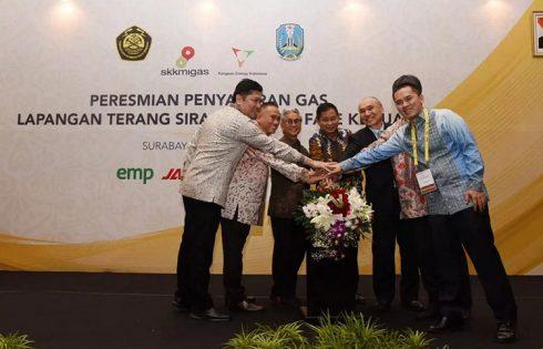 Menteri ESDM Resmikan Tambahan Pasokan Gas di Jawa Timur