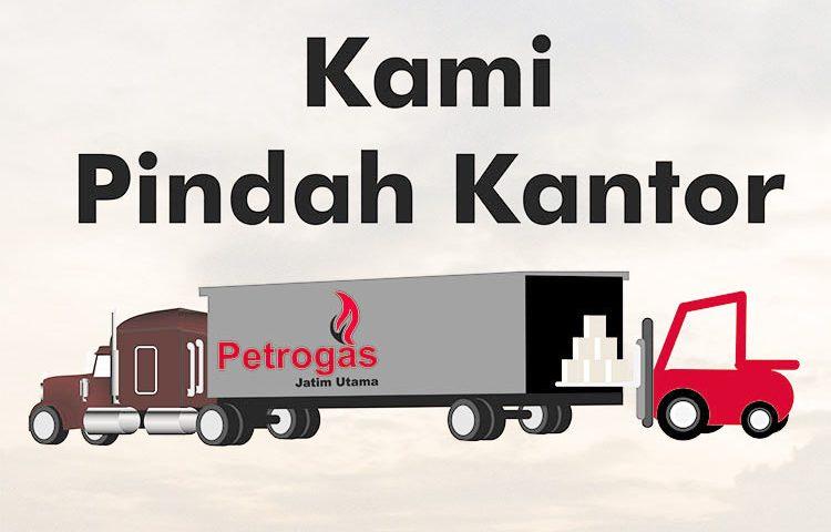 PT Petrogas Jatim Utama Pindah Kantor