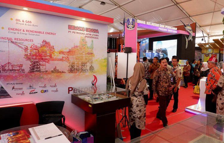 Stand Petrogas di Pameran Inovasi Layanan Publik
