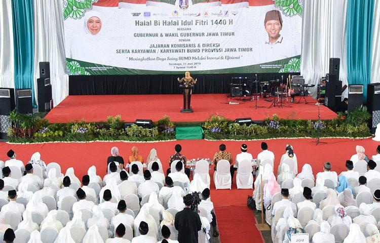 Khofifah Dorong BUMD Jadi 'World Class Company'