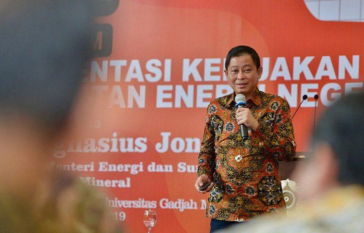 Menteri Jonan: Sektor ESDM Menarik Bagi Investor