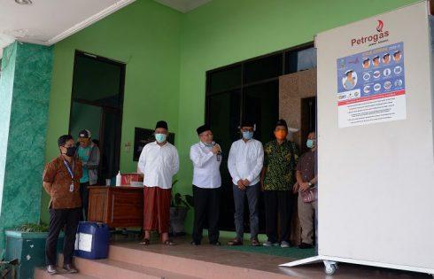 Bilik Sterilisasi PT PJU di Kantor PWNU Jatim