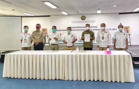 Kontrak Pembangunan Jargas Rp 600M Ditandatangani